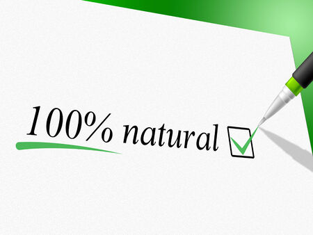 untreated: Hundred Percent Natural Indicating Pure Untreated And Real