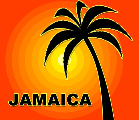 time off: Jamaican Holiday Showing Go On Leave And Time Off Stock Photo