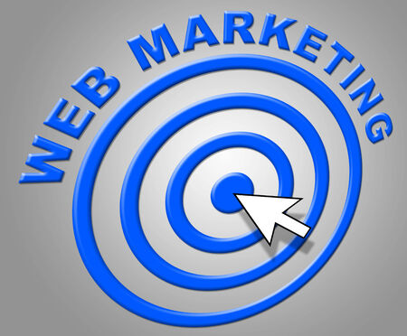 web marketing: Web Marketing Representing Sales Net And Promotions