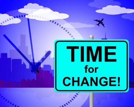 reforming: Tiempo para el cambio de indicaci�n en este momento y Revisar