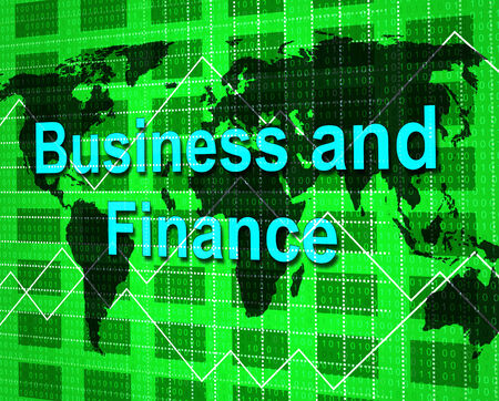 biz: Business And Finance Indicating Biz Investment And Profit