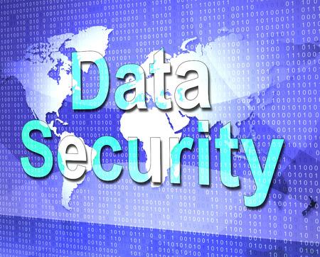unauthorized: Data Security Indicating Login Unauthorized And Information Stock Photo
