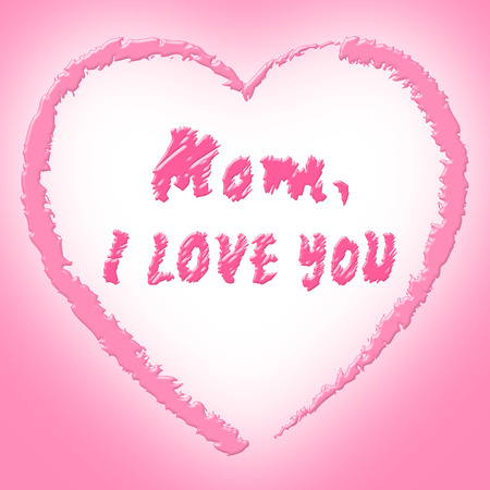 compassionate: Mom Love Indicating Compassionate Mothers And Loving Stock Photo