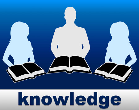 comprehension: Knowledge Books Meaning Comprehension Wise And Education Stock Photo