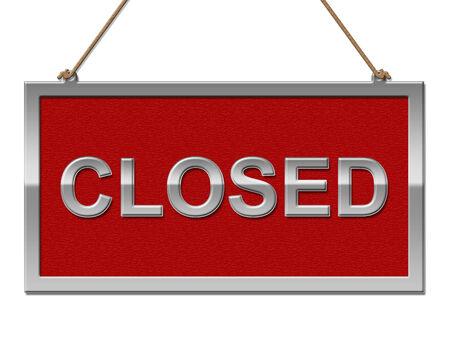 not open: Segno chiuso Mostrando si apre e Pubblicit�