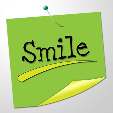 amabilidad: Sonrisa Nota Significado Emociones positividad y optimismo