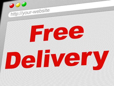 compliments: Free Delivery Showing With Our Compliments And Gratis