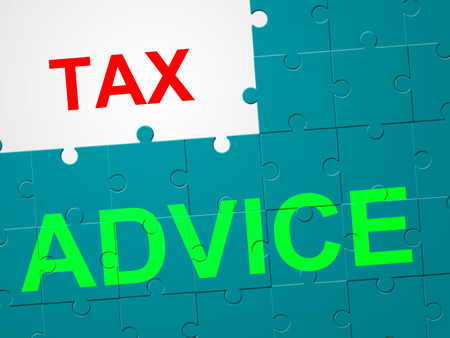 levy: Tax Advice Representing Instructions Levy And Taxation Stock Photo