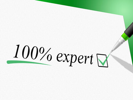 trained: Hundred Percent Expert Representing Experts Trained And Absolute