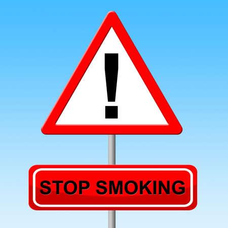 lungenkrebs: Stop Smoking Darstellen Lungenkrebs und Zigarette