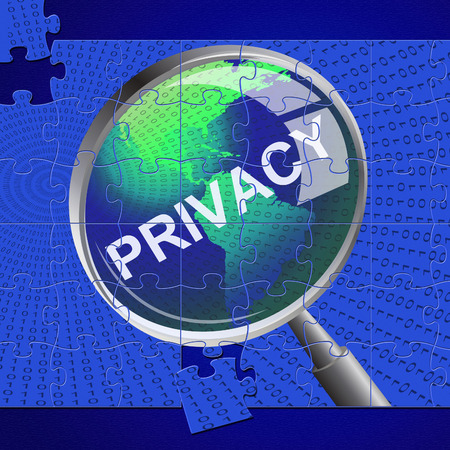confidentially: Privacy Magnifier Meaning Research Private And Confidential