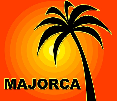 summer time: Majorca Holiday Meaning Go On Leave And Summer Time