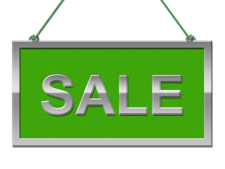 sale sign: Sale Sign Meaning Display Offer And Merchandise