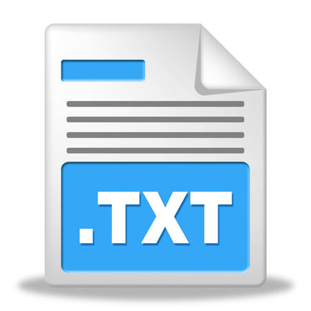 archiving: Text File Indicating Administration Catalogue And Archiving