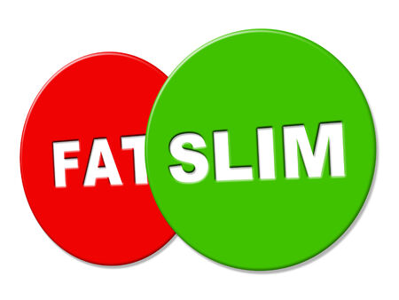 lose weight: Slim Sign Meaning Lose Weight And Slimming