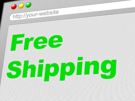 compliments: Free Shipping Meaning With Our Compliments And Freebie
