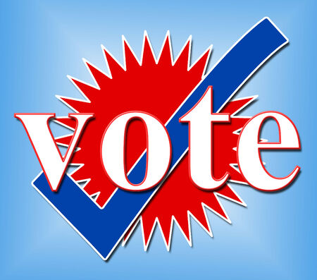 elect: Vote Tick Meaning All Right And Elect