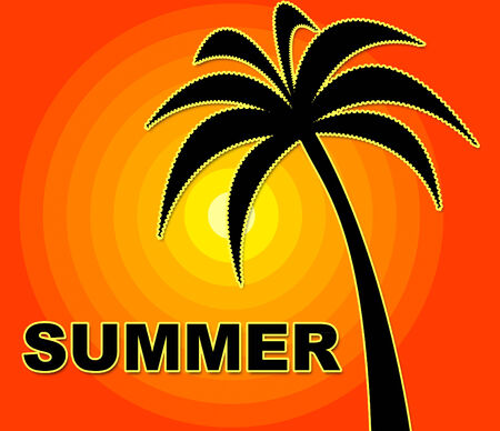 summer time: Summer Time Meaning Jubilant Heat And Warmth