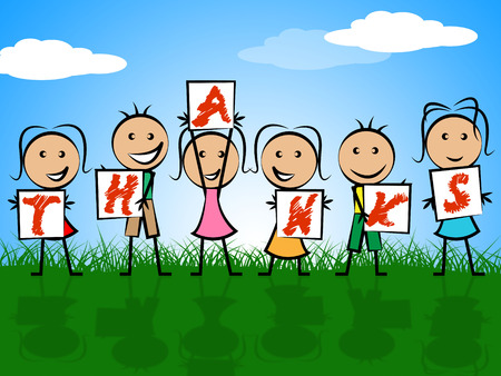 gratefulness: Ni�os Gracias representa la gratitud de la Juventud y la Infancia