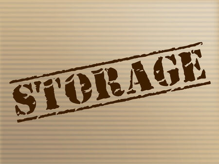distributing: Storage Stamp Indicating Depot Distributing And Logistics