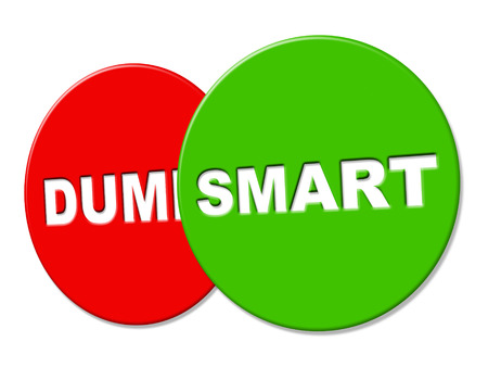 smartness: Smart Sign Meaning Sharpness Intellect And Cleverness