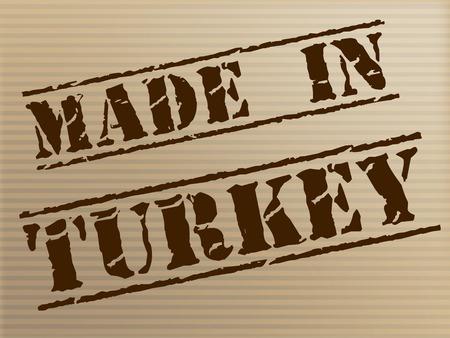 turks: Hecho en Turqu�a Representando turcos Industria y Exportaci�n