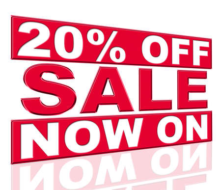 presently: Twenty Percent Off Showing At This Time And Promo