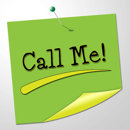 call me: Call Me Representing Messages Communication And Note