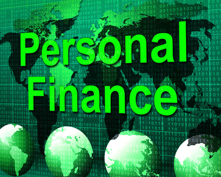 Personal Finance Indicating Cost Accounting And Accountant