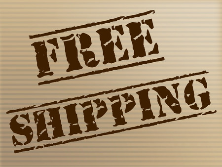 handout: Free Shipping Representing With Our Compliments And Handout