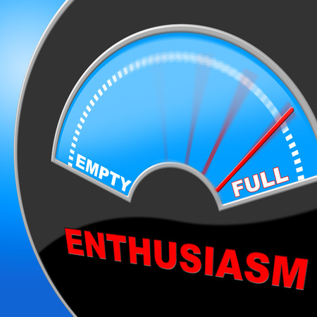 Full Of Enthusiasm Indicating Do It Now And Action
