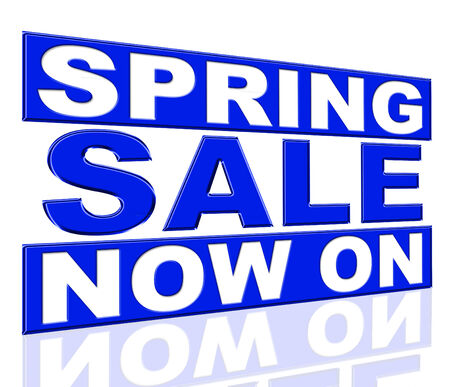 presently: Spring Sale Representing At The Moment And Promo