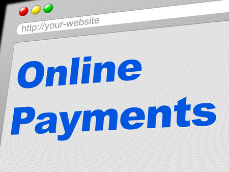 payable: Online Payments Showing World Wide Web And Bill Web