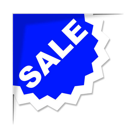 closeout: Sale Label Indicating Promotion Promotional And Closeout