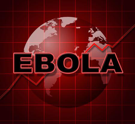 infochart: Ebola Graph Showing Graphic Infochart And Statistics