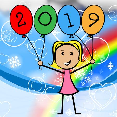 nineteen: Venti Diciannove Balloons Significato Giovane Donna E Una Ragazza