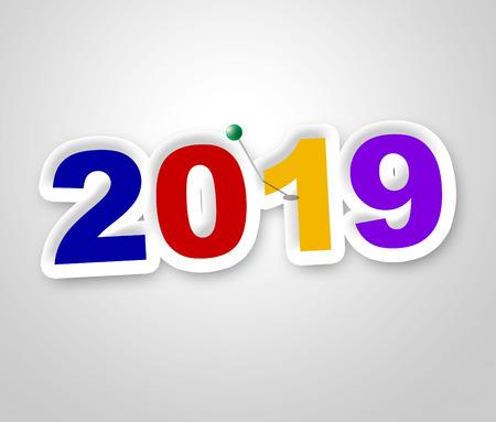 nineteen: Capodanno Indicando Duemila Nineteen e annuali
