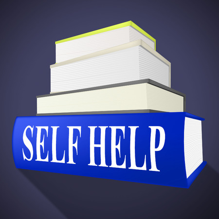 helps: Self Help Book Showing Helps Answers And I