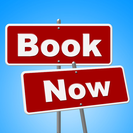 booked: Book Now Signs Showing At This Time And Reserve