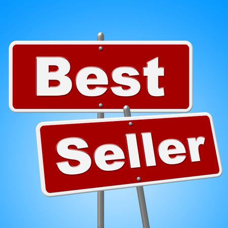 Best Seller Signs Showing Result Awards And Winning photo