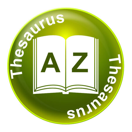 synonym: Thesaurus Sign Showing Know How And Synonym