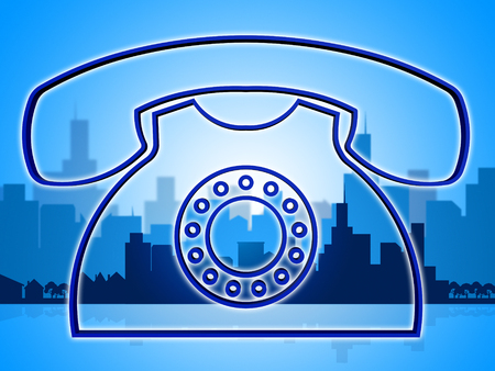 telephone call: Telephone Call Indicating Network Knowledge And Assistance