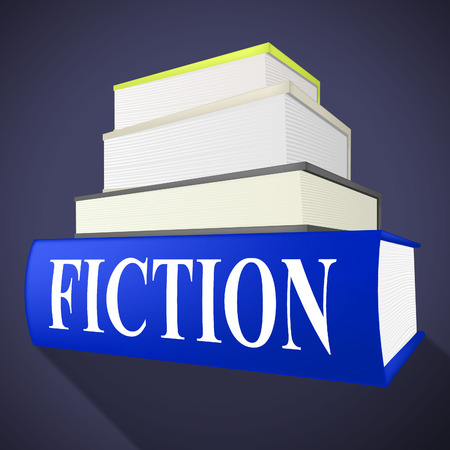 narration: Fiction Book Representing Story Telling And Literature Stock Photo