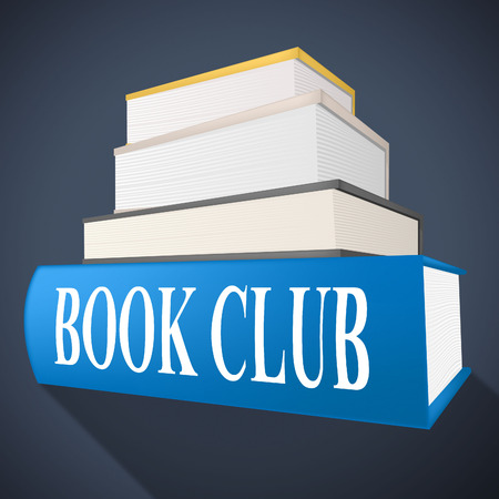 book club: Book Club Indicating Clubs Group And Team