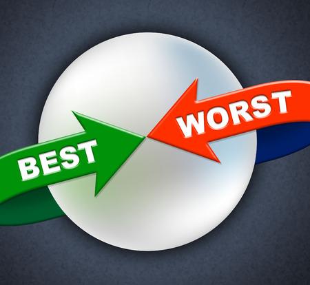 zatrważający: Najlepsze Najgorsza strzałki wskazujące numer jeden i Dire