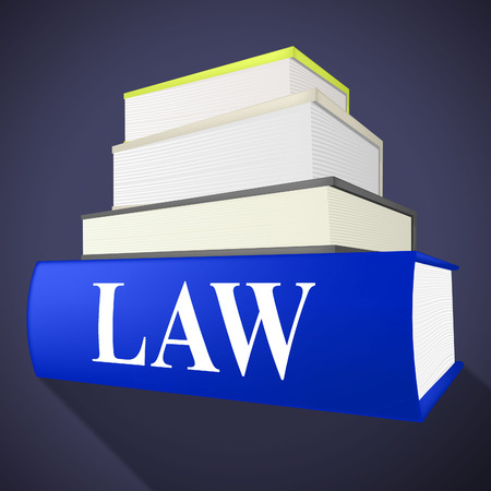 legislator: Law Book Indicating Legally Litigation And Books