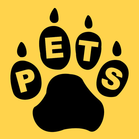 domestic animal: Pets Paw Meaning Domestic Animal And Animals
