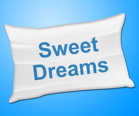nochebuena: Sweet Dreams Representaci�n Ir a la cama y las buenas noches