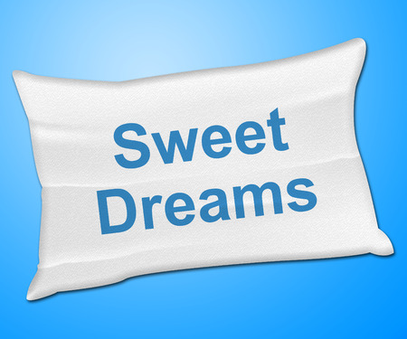 good night: Sweet Dreams Representing Go To Bed And Good Night