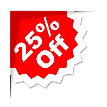 twenty five: Veinte y cinco por ciento Representando Sale barato y despacho